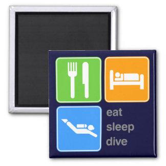 Eat Sleep Dive Magnet