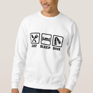 Eat sleep dive sweatshirt