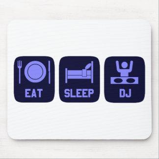 Eat Sleep DJ Mouse Pad