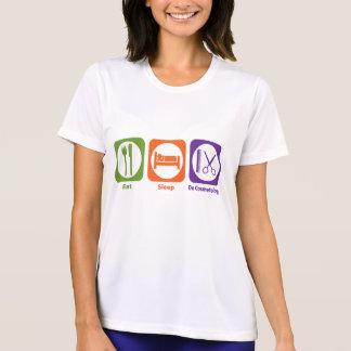 Eat Sleep Do Cosmetology Tshirts