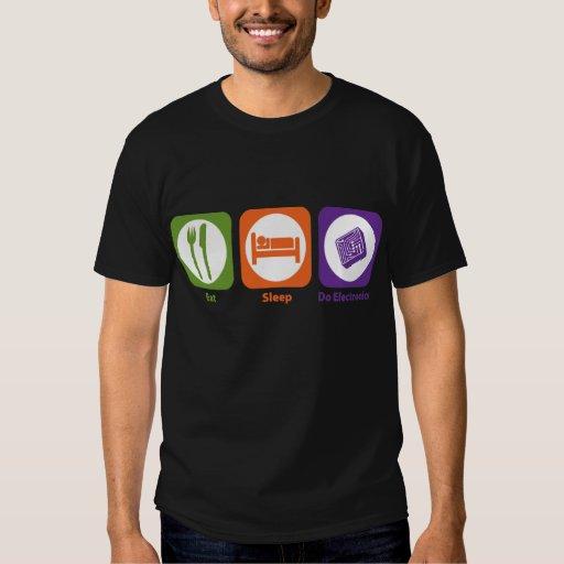 Eat Sleep Do Electronics T-Shirt