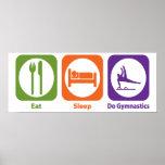 Eat Sleep Do Gymnastics Poster