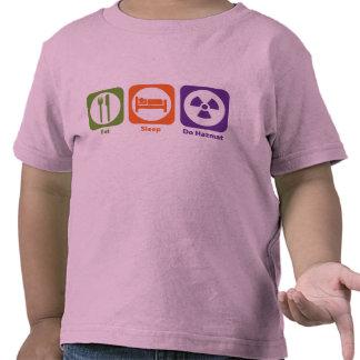 Eat Sleep Do Hazmat Shirt