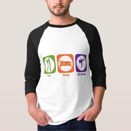 Eat Sleep Do Karate T-shirt