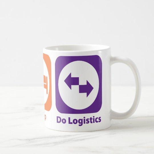 Eat Sleep Do Logistics Coffee Mug