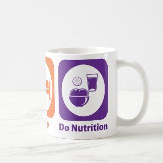 Eat Sleep Do Nutrition Coffee Mug