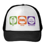 Eat Sleep Do Patents Hat