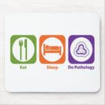 Eat Sleep Do Pathology Mouse Mats