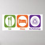 Eat Sleep Do Pathology Posters