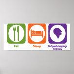Eat Sleep Do Speech-Language Pathology Print
