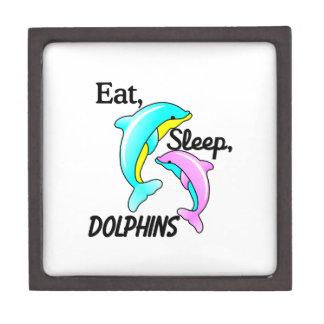 Eat, Sleep, Dolphins Gift Box