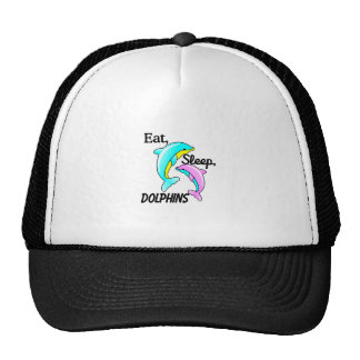 Eat, Sleep, Dolphins Trucker Hat