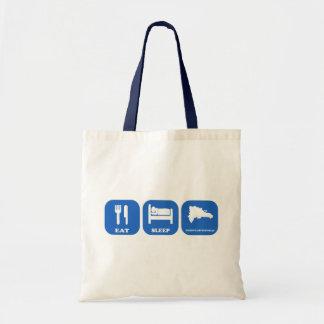 Eat Sleep Dominican Republic Budget Tote Bag
