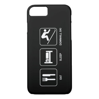 Eat Sleep Downhill Ski iPhone 7 Case