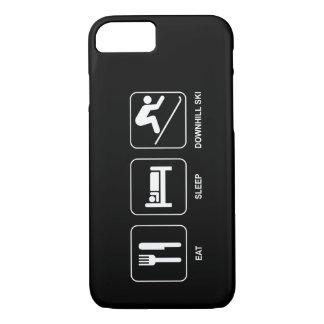 Eat Sleep Downhill Ski iPhone 7 Case