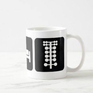 Eat Sleep Drag Race Classic White Coffee Mug