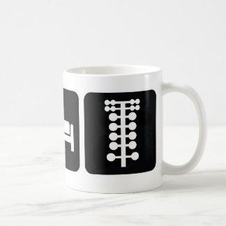 Eat Sleep Drag Race Coffee Mug