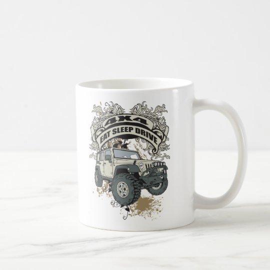 Eat, Sleep, Drive 4x4 Coffee Mug
