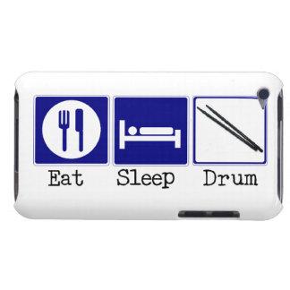 Eat, Sleep, Drum iPod Case-Mate Cases