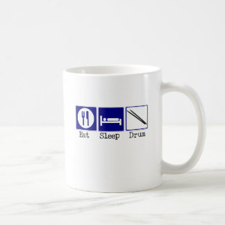 Eat, Sleep, Drum Coffee Mug