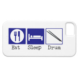 Eat, Sleep, Drum iPhone SE/5/5s Case