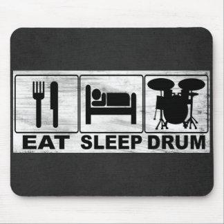 EAT SLEEP DRUM MOUSE PAD