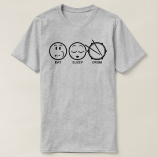 Eat Sleep Drum t-shirts
