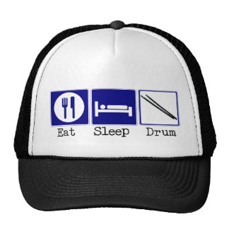 Eat, Sleep, Drum Trucker Hat