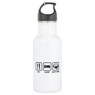 Eat Sleep Duct Tape Stainless Steel Water Bottle