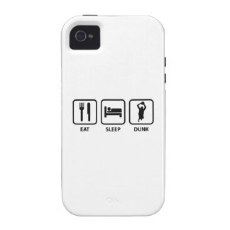 Eat Sleep Dunk Case-Mate iPhone 4 Cover
