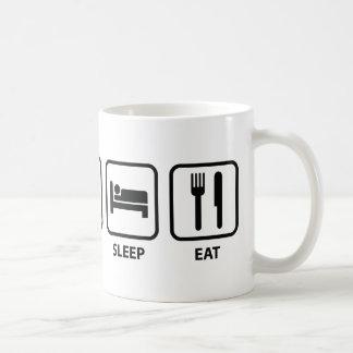 Eat Sleep Eat Coffee Mug