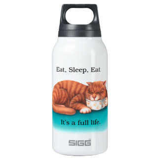 Eat Sleep Eat SIGG Thermo 0.3L Insulated Bottle