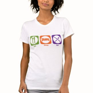 Eat Sleep Eat T-shirts