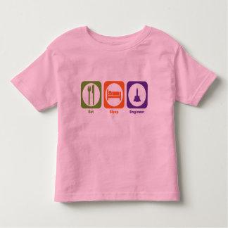 Eat Sleep Engineer Toddler T-shirt
