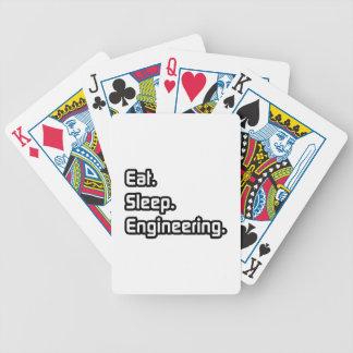 Eat. Sleep. Engineering. Deck Of Cards