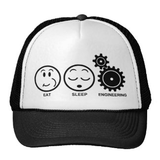 Eat Sleep Engineering Trucker Hat