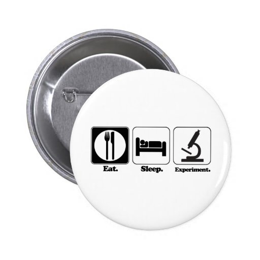 eat sleep experiment button