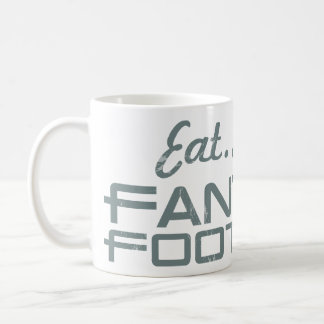 Eat. Sleep. Fantasy Football Coffee Mug