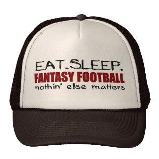 Eat Sleep Fantasy Football Trucker Hat
