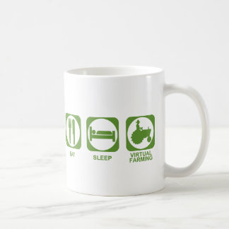 Eat Sleep Farm Coffee Mug