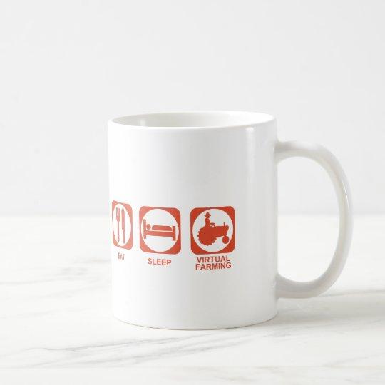 Eat Sleep Farm Coffee Mug