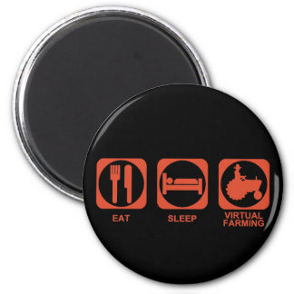 Eat Sleep Farm Magnet