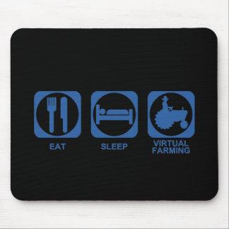 Eat Sleep Farm Mouse Pad