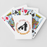 EAT SLEEP FEED GOATS - MY LIFE! BICYCLE PLAYING CARDS