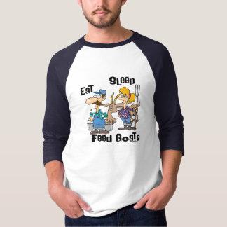 Eat Sleep Feed Goats T-Shirt