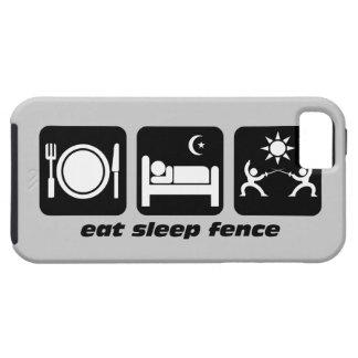 eat sleep fence iPhone 5 cases