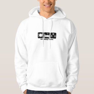 eat sleep fencing hoodie