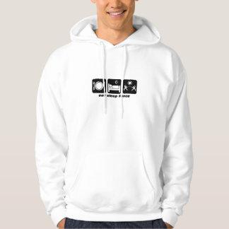 eat sleep fencing hoodie