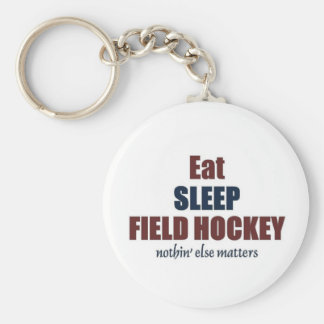 Eat sleep Field Hockey Keychain