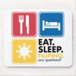 Eat Sleep Filipino Mouse Mats